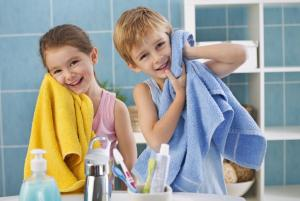 How to make your bathroom more child-friendly