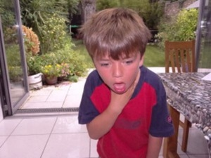 What to do when your child is choking