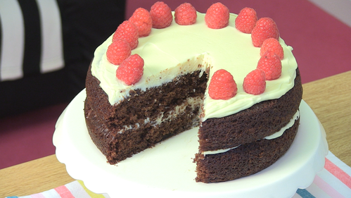 Really moist chocolate cake