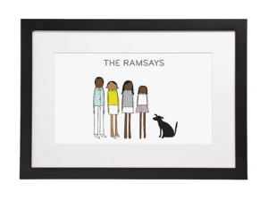 Love it! Our walls NEED these quirky custom family prints