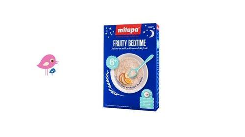 Milupa Bedtime Porridge: Spring hour change