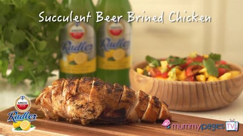 Succulent Beer Brined Chicken