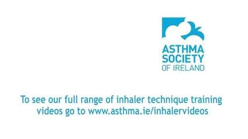 Asthma Society of Ireland Inhaler Tips