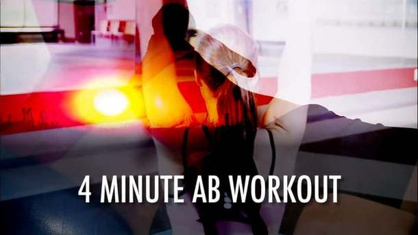 4 minute Ab Workout