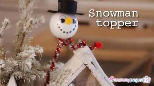 Snowman Topper