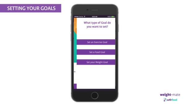 Safefoods weight-mate app