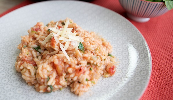 Mummy Cooks Vegetable Risotto