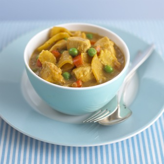 Fruity chicken korma