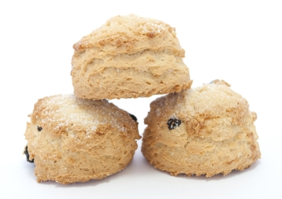 Spiced currant scones