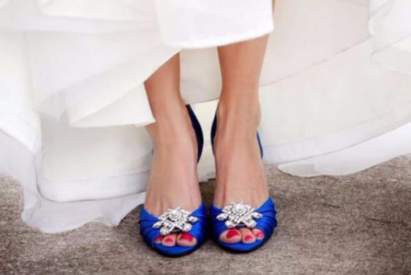 Something blue: 8 gorgeous ways to incorporate blue into your wedding look