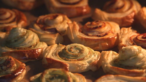 Puff pastry 3 ways