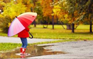 Maternal Instincts: Rain, rain, go away!