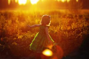 The simple beauty of nature through childrens eyes