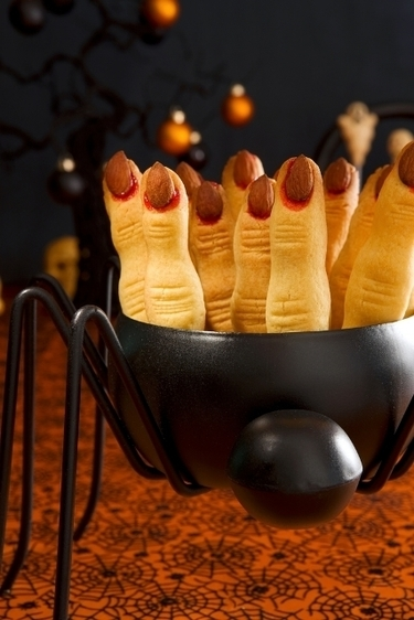 Halloween witches fingers