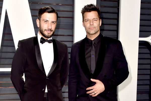 Congrats! Baby #4 on the way for Ricky Martin and husband Jwan Yosef