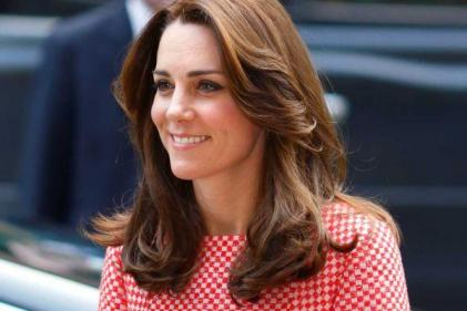 The Duchess of Cambridge wore the most beautiful floral dress today