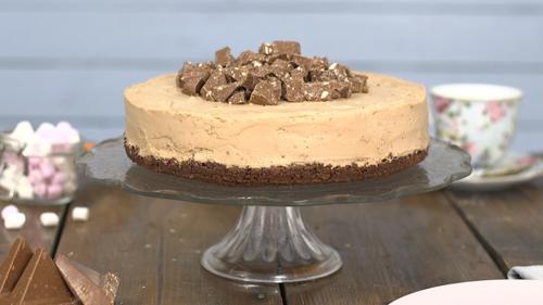 Toblerone cheesecake