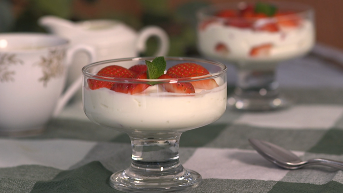 Syn free strawberry and cream