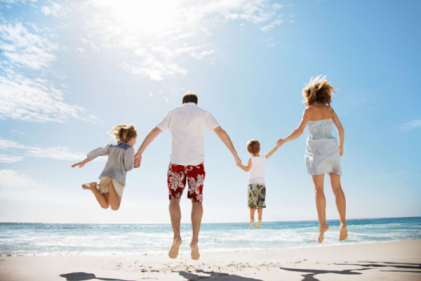 The touching reason why you should go on family holidays, according to new study