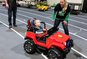 GoBabyGo! Cars for disabled children drive change