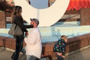 OMG: You will not believe how this toddler stole the spotlight at his mums proposal