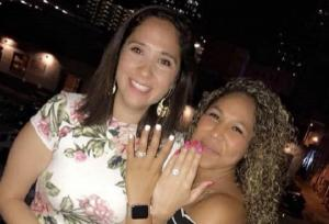 Shock as couple propose to each other at the same time