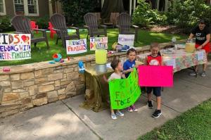 Six-year-old raises over $13,000 for separated immigrant families