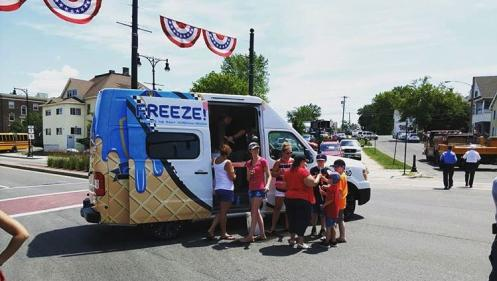 Operation Copsicle: This town is getting free ice-cream from their cop