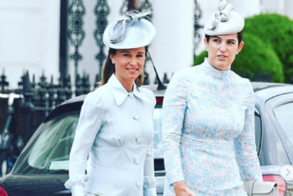 Pippa Middletons secret way to stay cool in her third trimester
