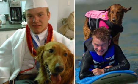 Quadriplegic man thanks surfer dog for helping him live life to the full