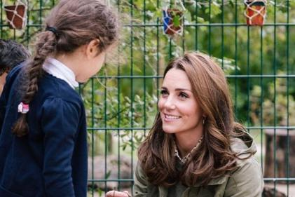 Kate Middleton reveals Prince George and Princess Charlottes favourite hobby