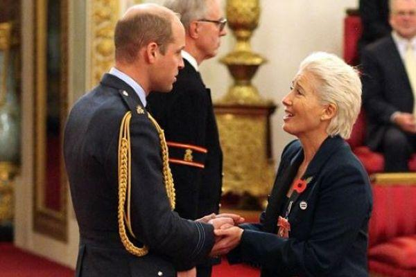 You wont believe what Dame Emma Thompson said to Prince William