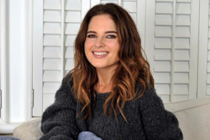 Adorable: Binky Felstead learned a valuable mummy lesson the hard way