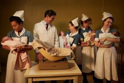 Call The Midwife shares official Christmas photo and it is too cute