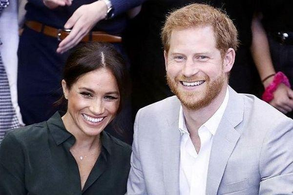Harry and Meghan share never-before-seen photo from their wedding day