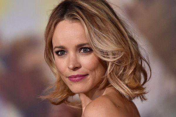 So natural: Rachel McAdams rocks a breast pump in Versace for a photoshoot