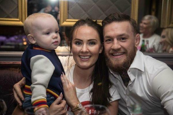 Conor McGregor shares intimate family snaps as Dees due date nears