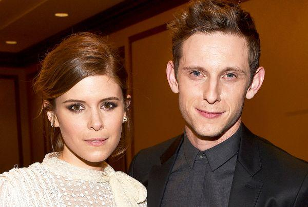 So sweet: Kate Mara and Jamie Bell expecting their first baby together