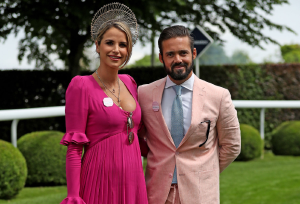 Spencer Matthews posts nostalgic wedding snap with James Middleton