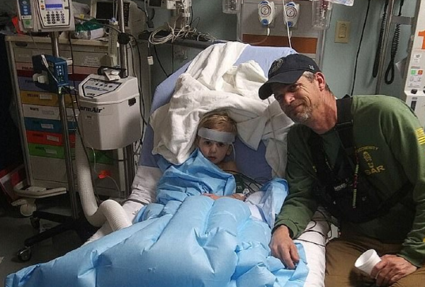 Three-year-old boy who was lost in the woods says he was cared for by a BEAR