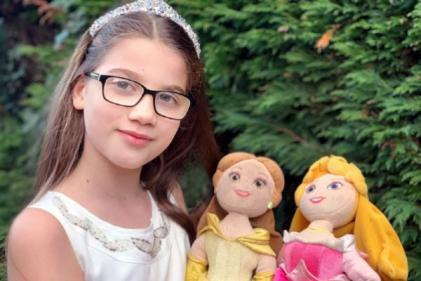 Little girl writes letter to Disney asking them to create princesses who wear glasses