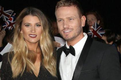Congrats! Baby joy for Charley Webb and Matthew Wolfenden