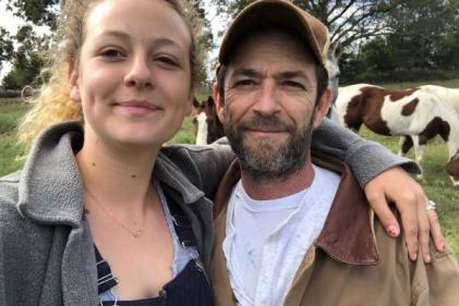 Luke Perrys daughter Sophie issues moving statement following actors death