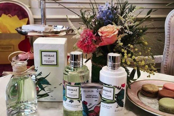 Green, fresh and floral: Herbae par L'OCCITANE is our go-to scent for Spring