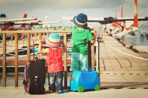 6 genius packing hacks that will make travelling with kids WAY easier