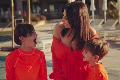What a gentleman: Stacey Solomon reduced to tears by sons touching gesture