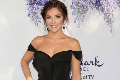 Relieved: Hallmarks Jen Lilley announces pregnancy after fostering two sons