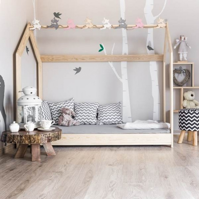 Transforming a nursery into a Montessori toddlers bedroom