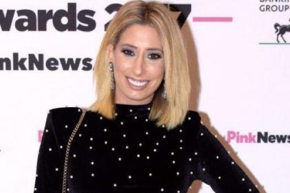 Stacey Solomon praised for posting picture of her furry baby bump
