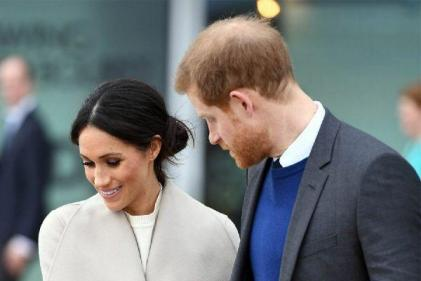 Harry and Meghan return to Frogmore Cottage with their baby boy